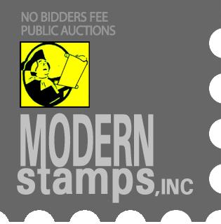 Auction Details   Modern Stamp